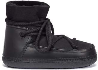 INUIKII 'Classic' lambskin shearling sneaker boots