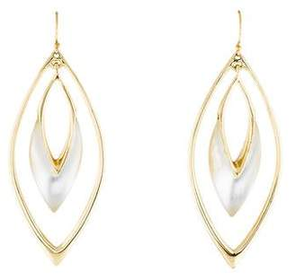 Alexis Bittar Lucite Oscillating Marquise Drop Earrings