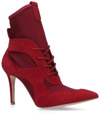 Gianvito Rossi Jenna Sock Boots 85