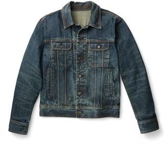 Jean Jacket – Worn Blue $350 thestylecure.com