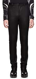Givenchy Men's Coated Wool Slim Trousers - Black
