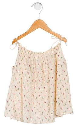 Caramel Baby & Child Girls' Floral Printed Blouse
