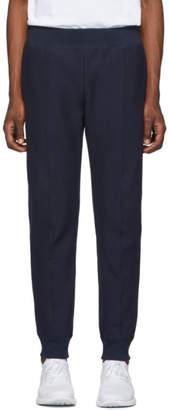 Champion Reverse Weave Navy Rib Cuff Lounge Pants