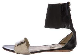 By Malene Birger Leather Ankle-Strap Sandals
