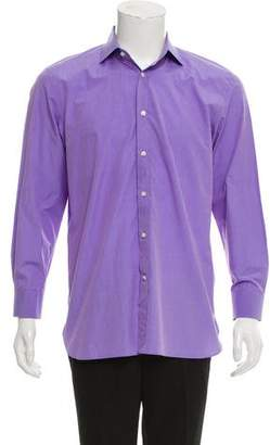 Ralph Lauren Purple Label Long Sleeve Button-Up Shirt