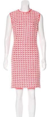 Oscar de la Renta Tweed Mini Dress