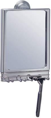 InterDesign Lineo Stainless Steel Power Lock Mirror