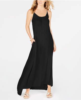 Raviya Crepe Sleeveless Maxi-Dress Cover-Up Women Swimsuit