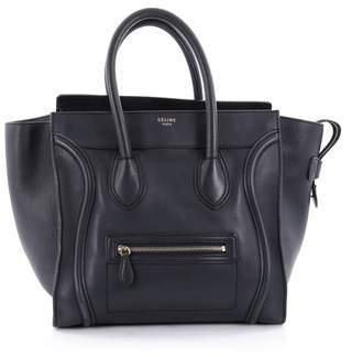 Celine Pre-owned: Luggage Handbag Smooth Leather Mini.