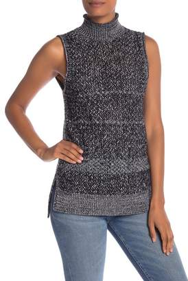 Alice + Olivia Abbott Mock Neck Sleeveless Sweater