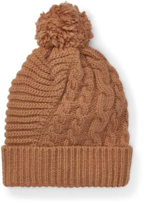 Polo Ralph Lauren Pom-Pom Cable-Knit Hat