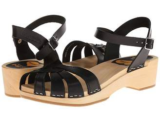 Swedish Hasbeens Cross Strap Debutant Women's Sandals
