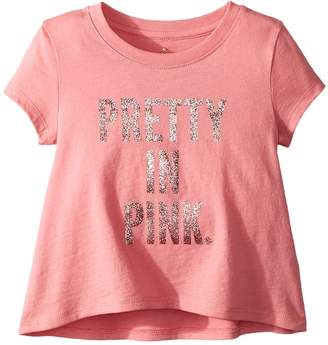 Kate Spade New York Kids Pretty In Pink Swing Tee Girl's T Shirt