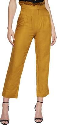 Bardot Monaco Linen Blend Ankle Pants