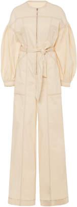 Ulla Johnson Akiba Cotton Long Sleeve Jumpsuit