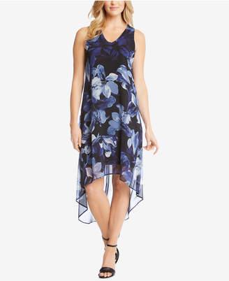 Karen Kane High-Low Printed Sleeveless Dress