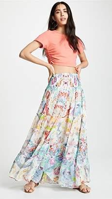 Camilla Sheer Tiered Circle Skirt