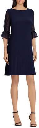 Ralph Lauren Poet-Sleeve Jersey Dress
