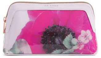 Ted Baker London Itzel Neon Poppy Cosmetics Case $49 thestylecure.com