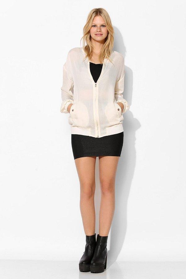 Urban Outfitters D.RA Ciara Bomber Jacket