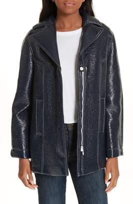 BA&SH Volupia Faux Leather Coat