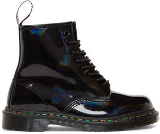 Dr. Martens Black Rainbow 1460 Boots