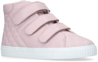 Burberry Quilted Leather Sneakers