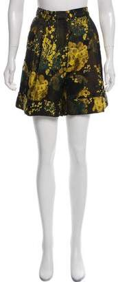 Dries Van Noten Brocade Knee-Length Shorts w/ Tags