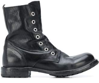 Moma combat ankle boots