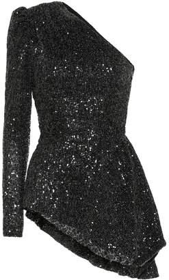 Rebecca Vallance Mica sequined top