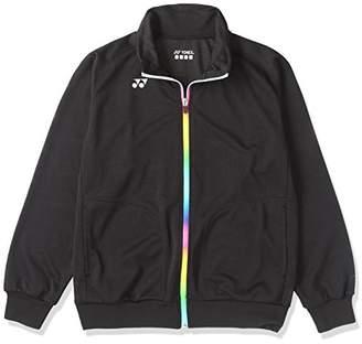 Yonex (ヨネックス) - (ヨネックス)YONEX WOMEN メッシュウォームアップシャツ 57020 007 ブラック O
