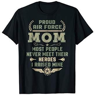 Proud Air Force Mom T-Shirts