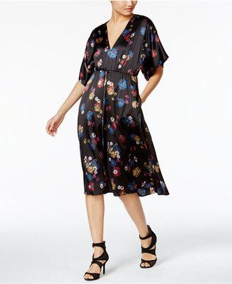 Catherine Malandrino Georgina Floral-Print A-Line Dress $348 thestylecure.com