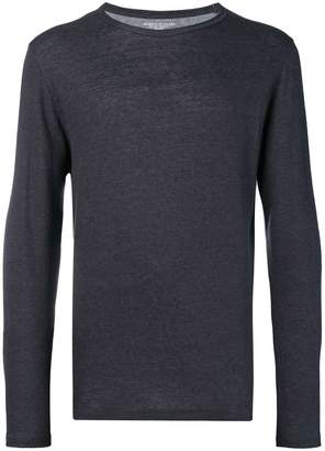 Majestic Filatures round neck fine knit top