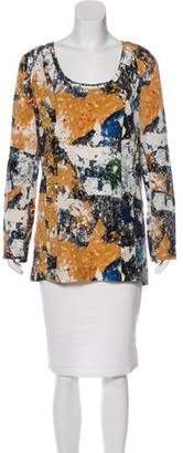 Tory Burch Silk Printed Tunic