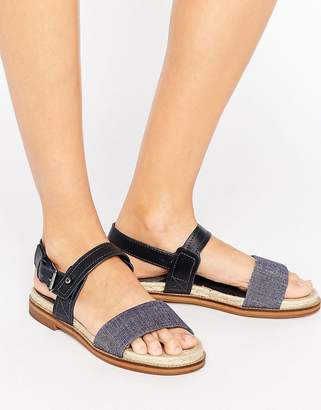 G-Star Remi Espadrille Leather Flat Sandals $127 thestylecure.com