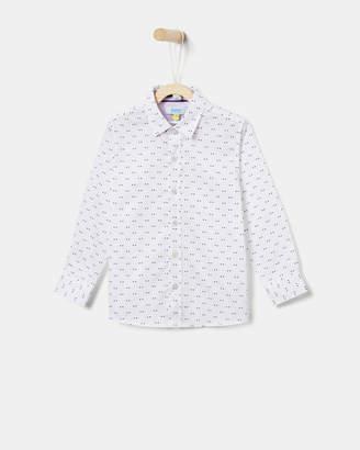 Ted Baker TOMIZ Opulence geo print shirt