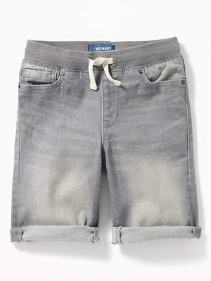 Old Navy Karate Rib-Waist Built-In Flex Max Denim Shorts for Boys