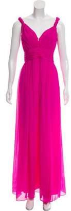 Rachel Zoe Silk Maxi Dress