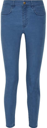 A.P.C. Minimal Mid-rise Skinny Jeans - Blue