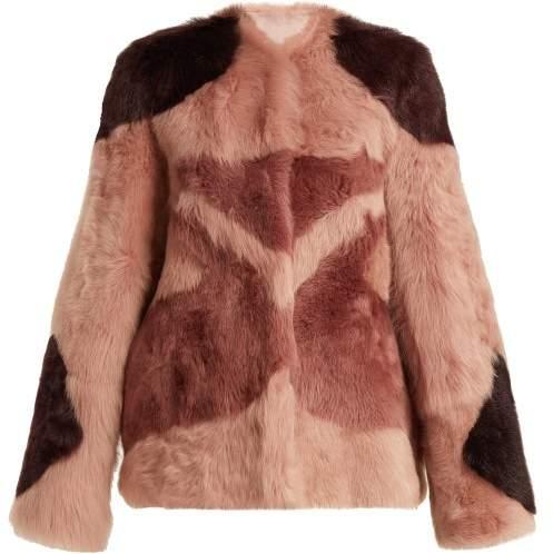 1970s Tiger Shearling Coat - Womens - Pink