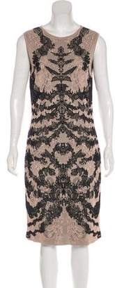 Alexander McQueen Sleeveless Midi Dress