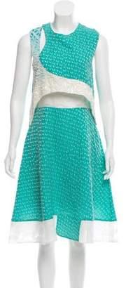 Prabal Gurung Textured Midi Dress w/ Tags