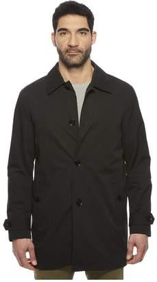 Cole Haan Stand Collar Rain Jacket with Back Hem Vent Men's Coat
