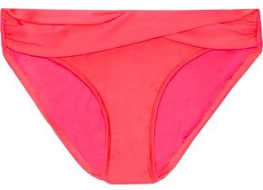 Seafolly Hipster Twist-front Low-rise Bikini Briefs
