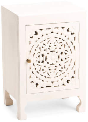 Made In India Hand Carved Cabinet