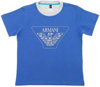 Armani Junior Logo Cotton Jersey T-Shirt