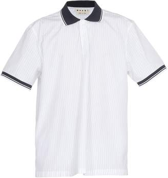 f520429ed Striped Polo Shirts No Collar - ShopStyle UK