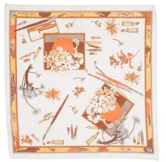 Les Copains Woven Printed Handkerchief