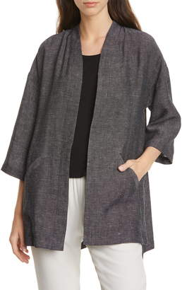 Eileen Fisher Three-Quarter Sleeve Jacket